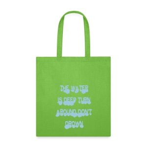 deep water turn around - Tote Bag