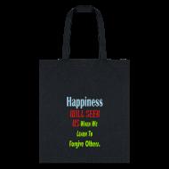 Bags & backpacks ~ Tote Bag ~ Happiness
