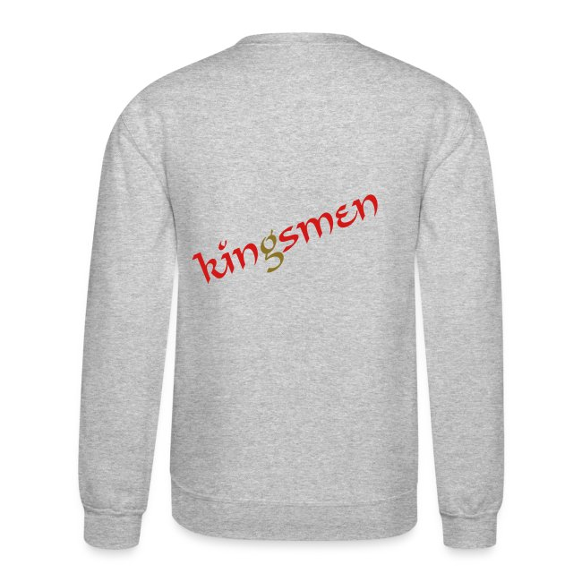 Rated Iamking King Of Hearts Kingsmen Crewneck Crewneck Sweatshirt