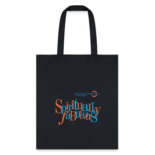 Spiritually Fab Neon Tote Bag - Tote Bag