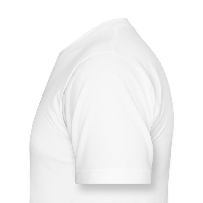 Basic NLBS Logo Shirt: Men's White