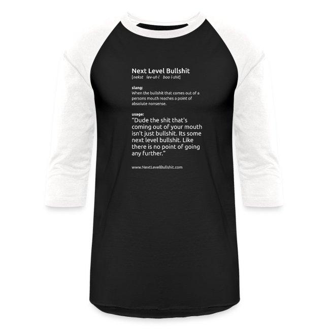 NSFW Men's Baseball T-Shirt