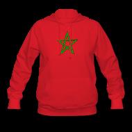 Hoodies ~ Women's Hoodie ~ Women's Moorish Flag Hoodie