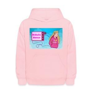 DiabeticDanica Logo Kid's Hoodie - Kids' Hoodie