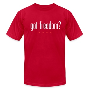 Got Freedom Shirt - Men's T-Shirt by American Apparel