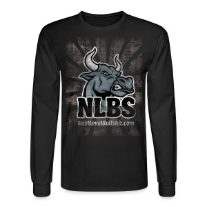 NLBS Grunge Long-Sleeve, Men's Black - Men's Long Sleeve T-Shirt