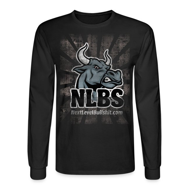 NLBS Grunge Long-Sleeve, Men's Black