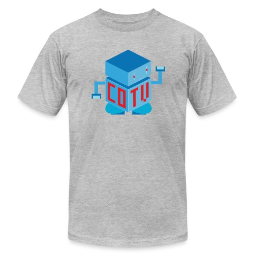 CoinOpTV Bot Men T-Shirt Gear - Men's T-Shirt by American Apparel
