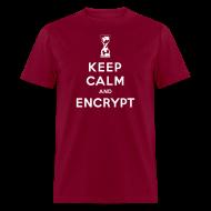 T-Shirts ~ Men's T-Shirt ~ Keep Calm and Encrypt