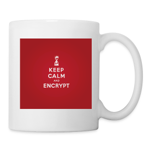 Keep Calm and Encrypt - Coffee/Tea Mug