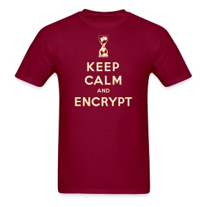 Keep Calm and Encrypt - Men's T-Shirt