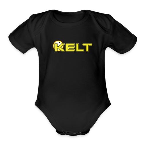KELT baby   - Organic Short Sleeve Baby Bodysuit