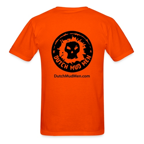 Dutch Mud Men | Orange Cotton - Men's T-Shirt