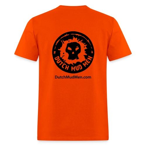 Dutch Mud Men   Orange Cotton - Men's T-Shirt