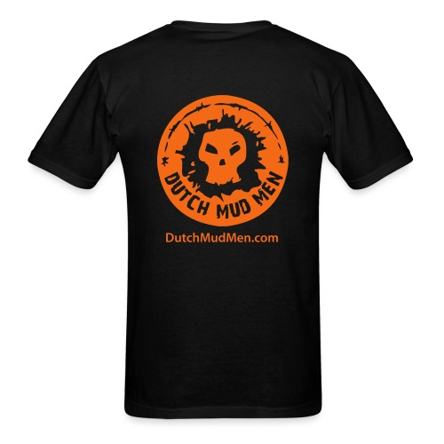 Dutch Mud Men   Black Cotton - Men's T-Shirt