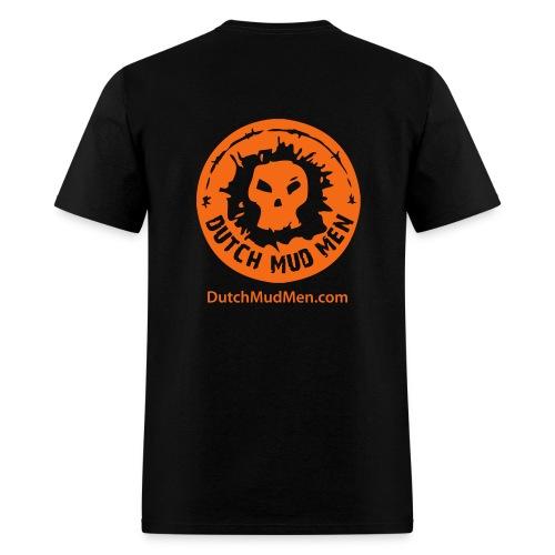 Dutch Mud Men | Black Cotton - Men's T-Shirt