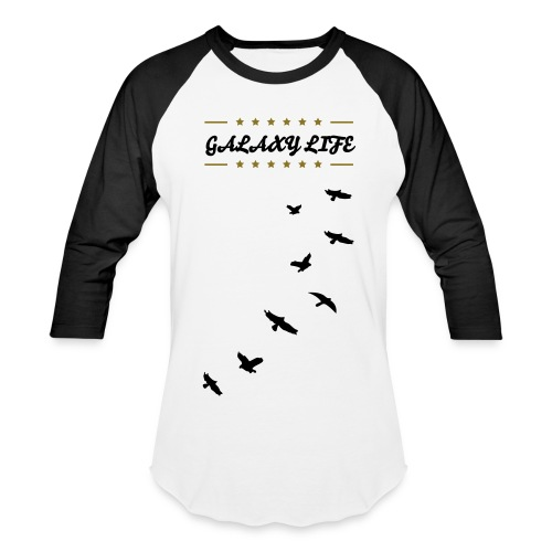 Galaxy Life White Raven - Baseball T-Shirt