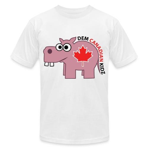 T-Shirt - Dem Canadian Kidz - Men's Fine Jersey T-Shirt