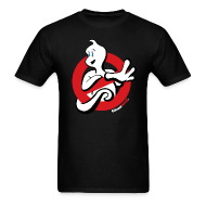T-Shirts ~ Men's T-Shirt ~ GusAintFraidOfNoGhost-Tee