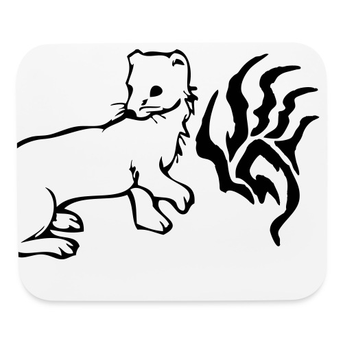 Ferret + mouse pad hmmmmm - Mouse pad Horizontal