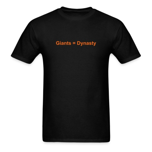 Giants shirt - Men's T-Shirt