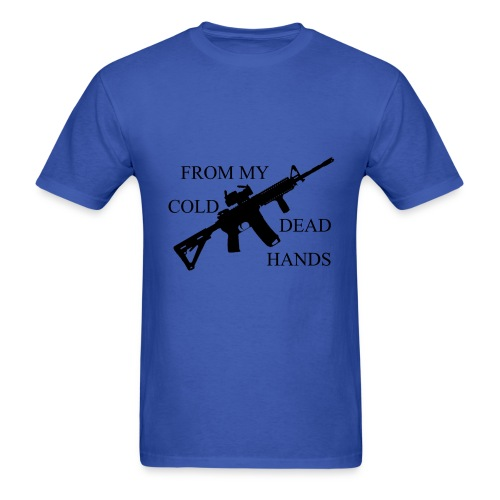 From My Cold Dead Hands - Men's T-Shirt