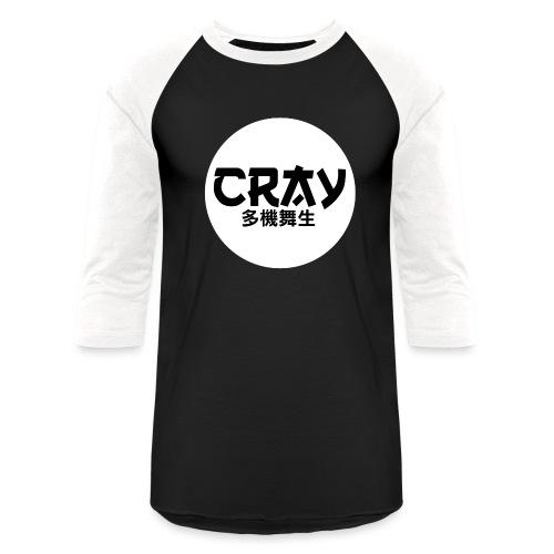 CRAY CIRCLE LOGO - Baseball T-Shirt