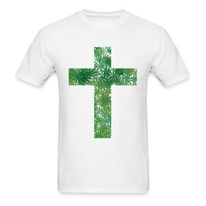 Cannabis Cross T-Shirt - Men's T-Shirt
