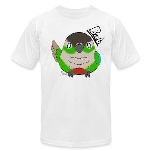 Men's Green Cheek Conure Birb Shirt - Men's Fine Jersey T-Shirt