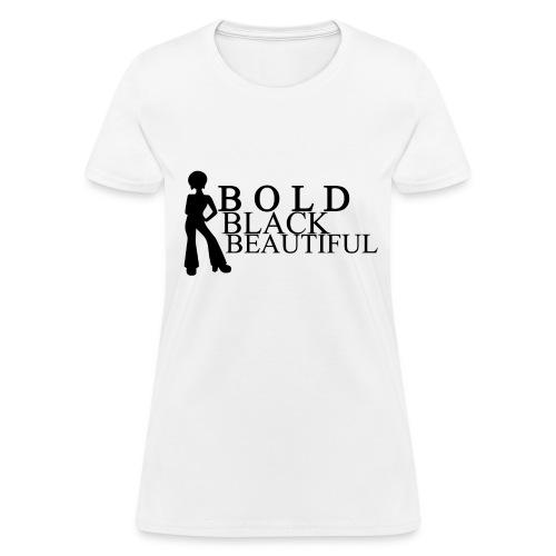 Bold Black Beautiful Tee - Women's T-Shirt
