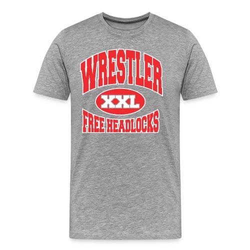 Free Headlocks... - Men's Premium T-Shirt