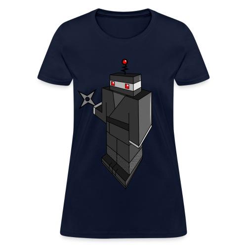 Robot Ninja - Women's T-Shirt