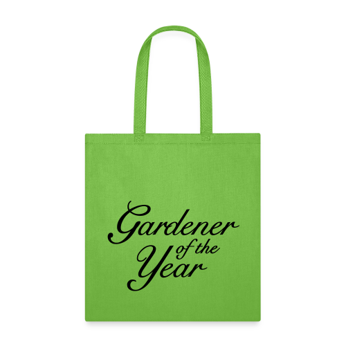 Gardener of the Year Tote Bag - Tote Bag
