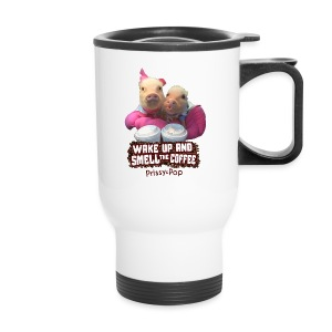 Wake Up And Smell The Coffee - Travel Mug