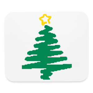 Christmas tree - Mouse pad Horizontal