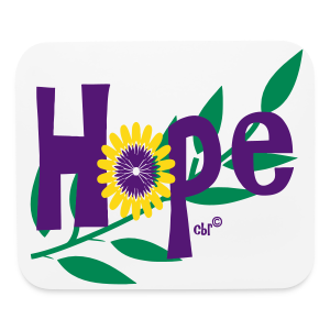 Hope - Mouse pad Horizontal