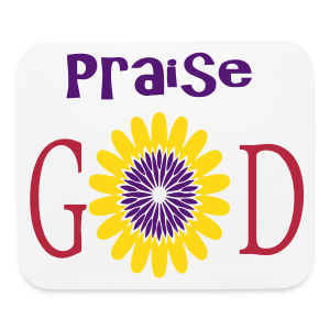 Praise God - Mouse pad Horizontal