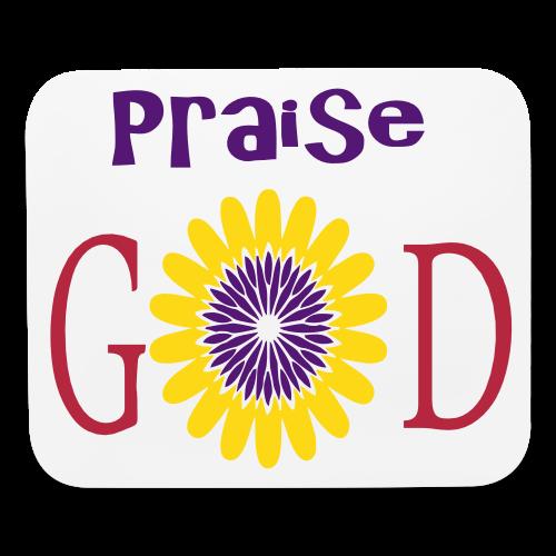Praise God - Mouse pad Horizontal