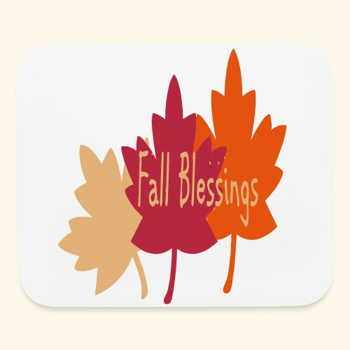 Fall Blessings - Mouse pad Horizontal
