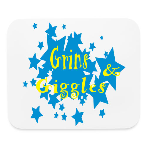 Grins and giggles - Mouse pad Horizontal