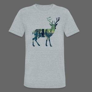 Michigan Deer - Unisex Tri-Blend T-Shirt