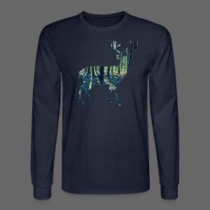 Michigan Deer - Men's Long Sleeve T-Shirt