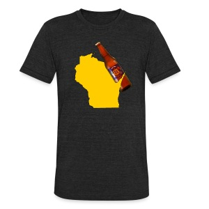 Brew State - Unisex Tri-Blend T-Shirt by American Apparel