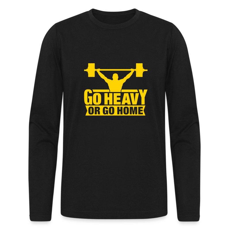 GO HEAVY - Men's Long Sleeve T-Shirt by Next Level