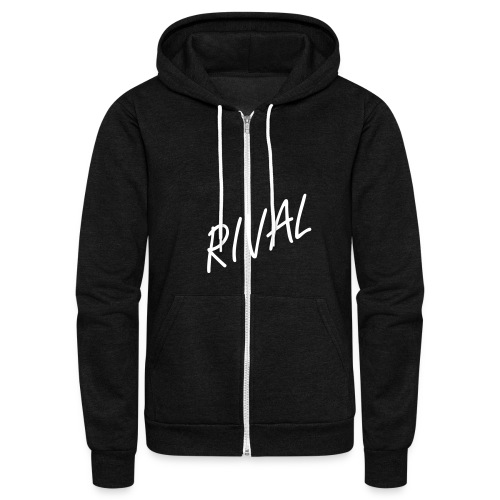 Rival Fallen-Angel Zip up Hoodie (American Apparel) - Unisex Fleece Zip Hoodie