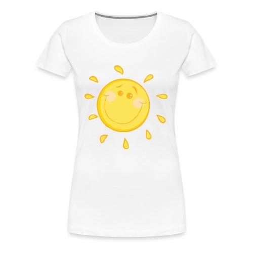 Mommy and Me Sunshine  Mom T-Shirt - Women's Premium T-Shirt