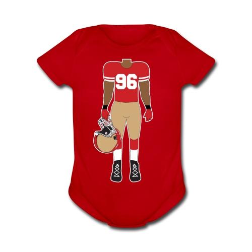 96 baby - Organic Short Sleeve Baby Bodysuit
