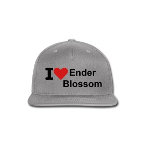 I Love Ender Blossom Hat - Snap-back Baseball Cap