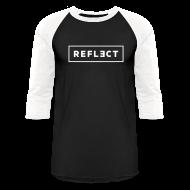 T-Shirts ~ Baseball T-Shirt ~ REFLECT Baseball T-Shirt