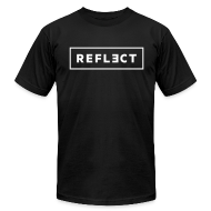 T-Shirts ~ Men's T-Shirt by American Apparel ~ REFLECT Men's T-Shirt